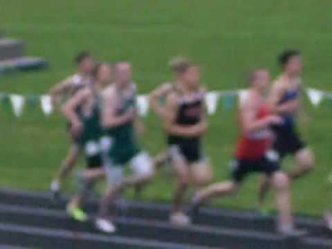 2012 MSHSL Section 8AA Track & Field Championship Meet - Boys 3200 Meter Run FINALS (Heat 1 of 2)