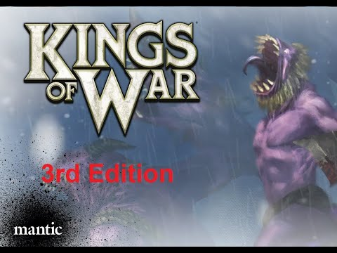 KINGS OF WAR THIRD EDITION Orcs VS Undead