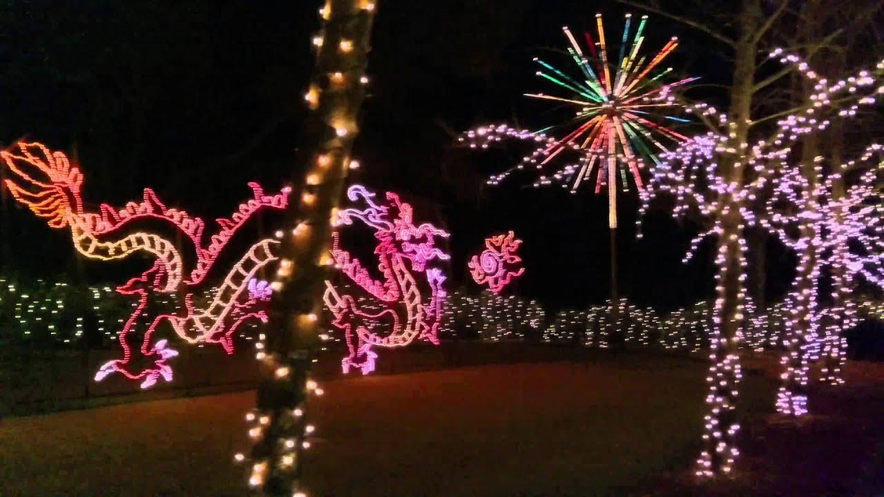 Christmas Lights Fireworks at Bellingrath Gardens YouTube