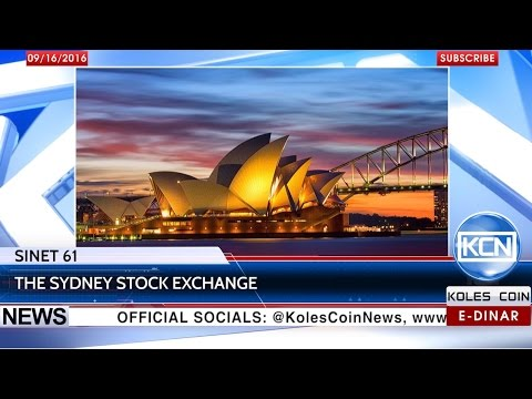 KCN News: SINET 61 and Sydney Stock Exchange