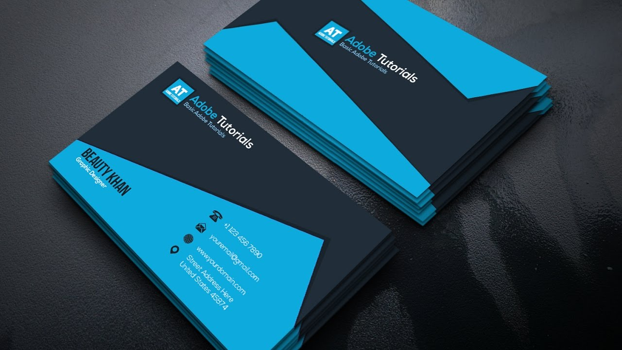 Amazing Business Cards Adobe Illustrator Photos - Business Card ...
