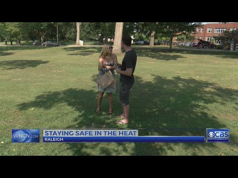 People try to stay cool during NC's oppressive heat wave