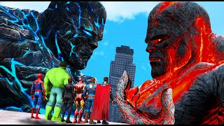 GTA-5-Superheroes-FOUND-Biggest-Titans-2-Perses-VS-Oceanus