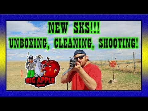 New SKS from CLASSIC FIREARMS! Unboxing, Cleaning, Testing!!! Sunday Gunday!!