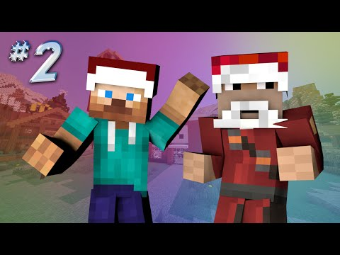 Saving Christmas - HAUNTED MCDONALDS (Minecraft Roleplay) #2