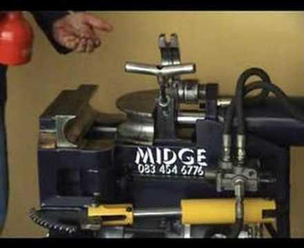 Midge Pipe Bender - YouTube