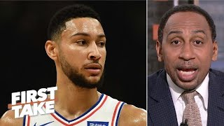 The 76ers want Ben Simmons to shoot more, but he hasn't done it – Stephen A. | First Take