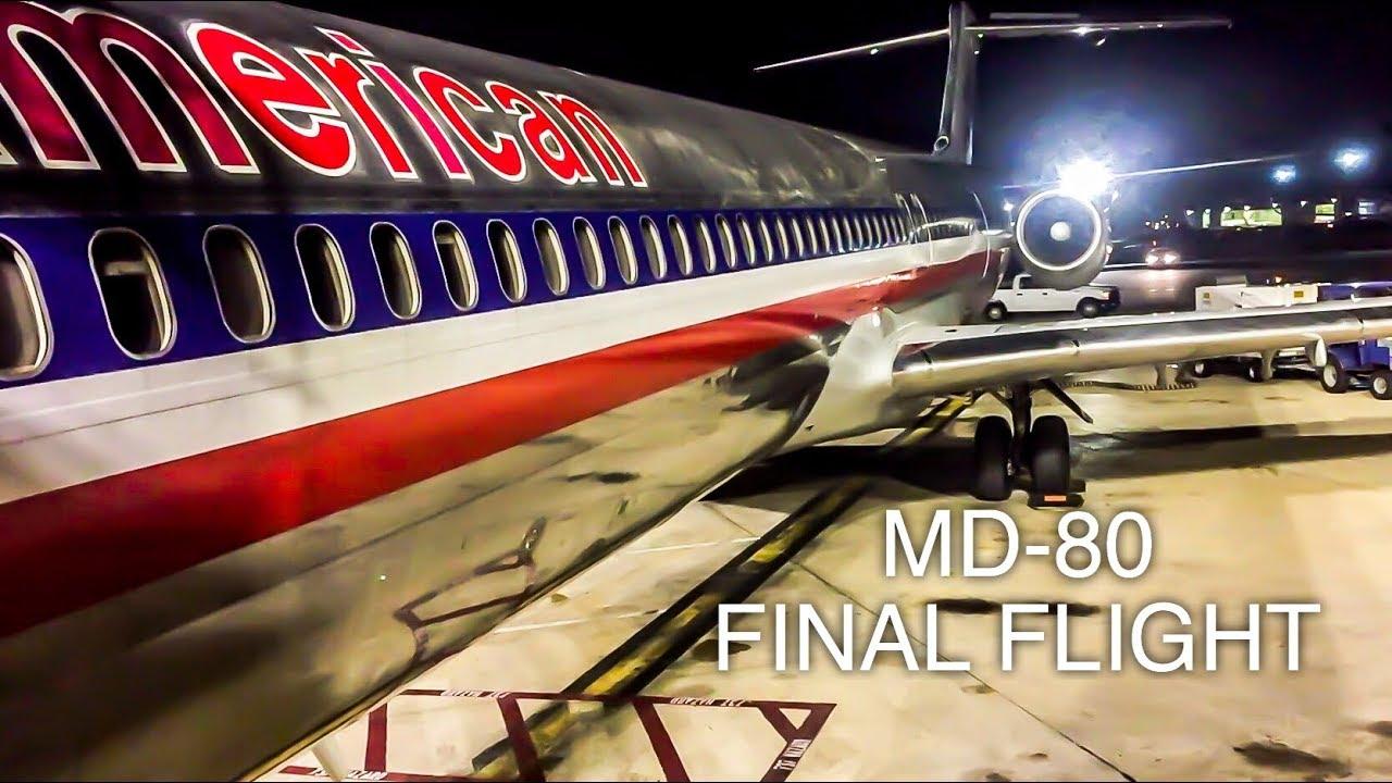 American Airlines FINAL MD-80 RETIREMENT FLIGHT | Amarillo To Dallas/Fort Worth | FULL FLIGHT