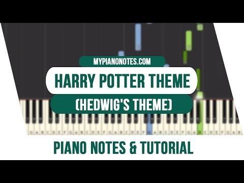 harry potter noten klavier