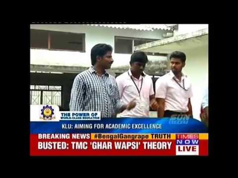 Kalasaliingam University Profiling in Times Now Channel