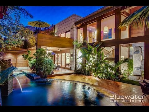 Balinese style estate home la jolla california youtube for Bali style homes to build