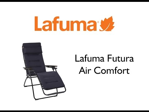 lafuma futura air comfort recliner youtube. Black Bedroom Furniture Sets. Home Design Ideas