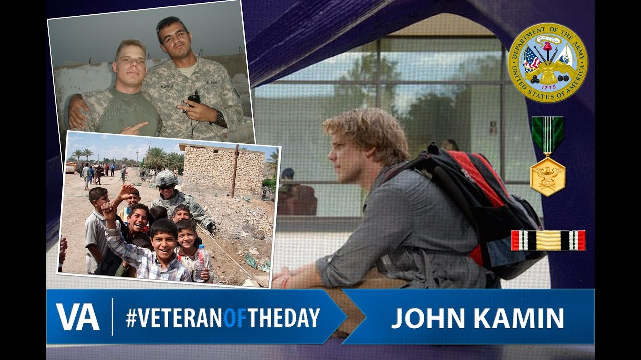 Kamin Youtube Veteranoftheday Army Veteran John Kamin