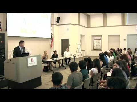 Health Care Careers Panel Presentation at LBCC