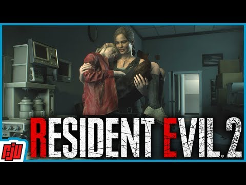 Resident Evil 2 Part 16 | Claire B Ending | RE2 Remake Gameplay Walkthrough | PC Horror Game