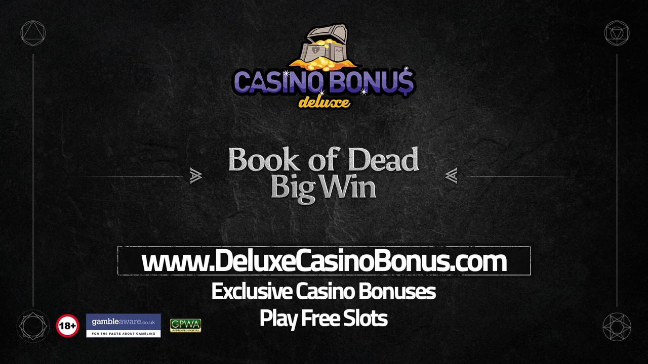Book of Dead ???? 254X Big Win ➤ Play`n Go Slots ➤ LV BET Casino