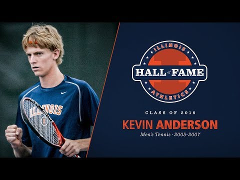 Kevin Anderson - 2018 Illinois Athletics Hall of Fame