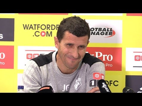Javi Gracia's First Full Press Conference After Becoming Watford Manager
