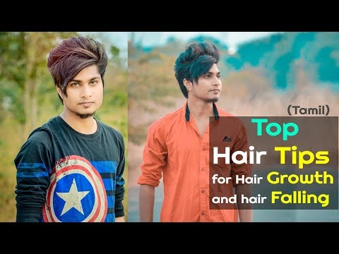 Top Best Hair Care Tips & Routine For Indian Men's -- Grooming & Hairstyle -- TAMIL -- - 동영상