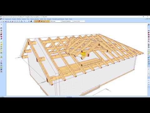 Visione D'insieme Dei Software WETO Per Progettare/fare Tetti Case E In Legno
