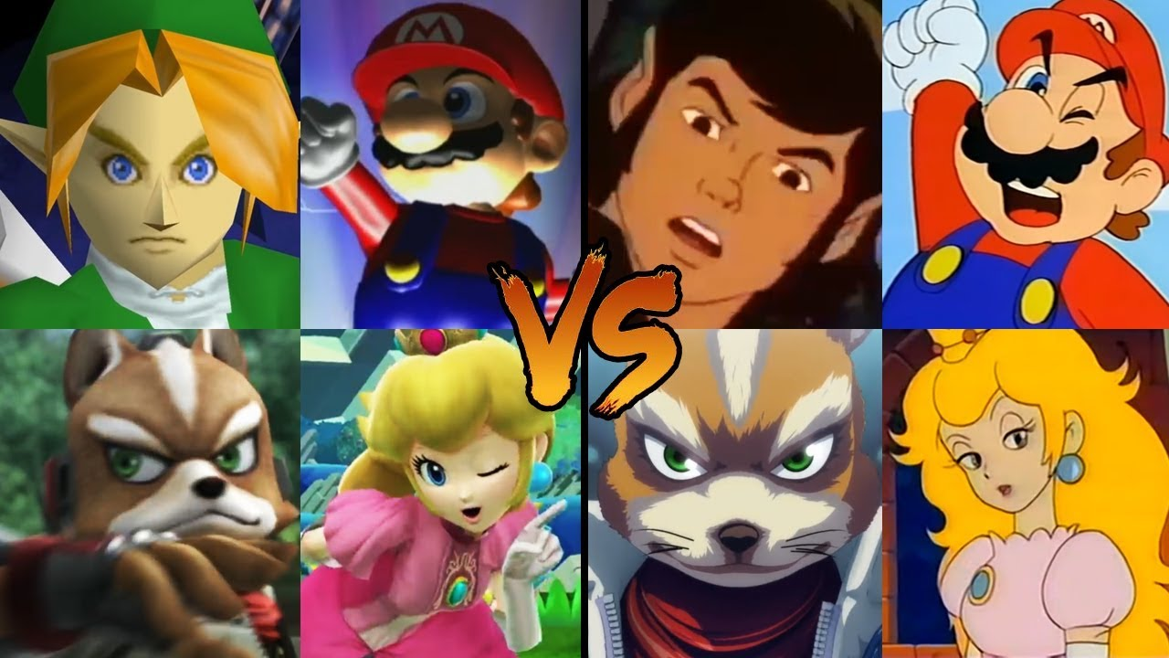 Download All Super Smash Bros. Intros: Official vs  Animated