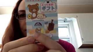 Rement Rilakkuma Gifts Box Opening!