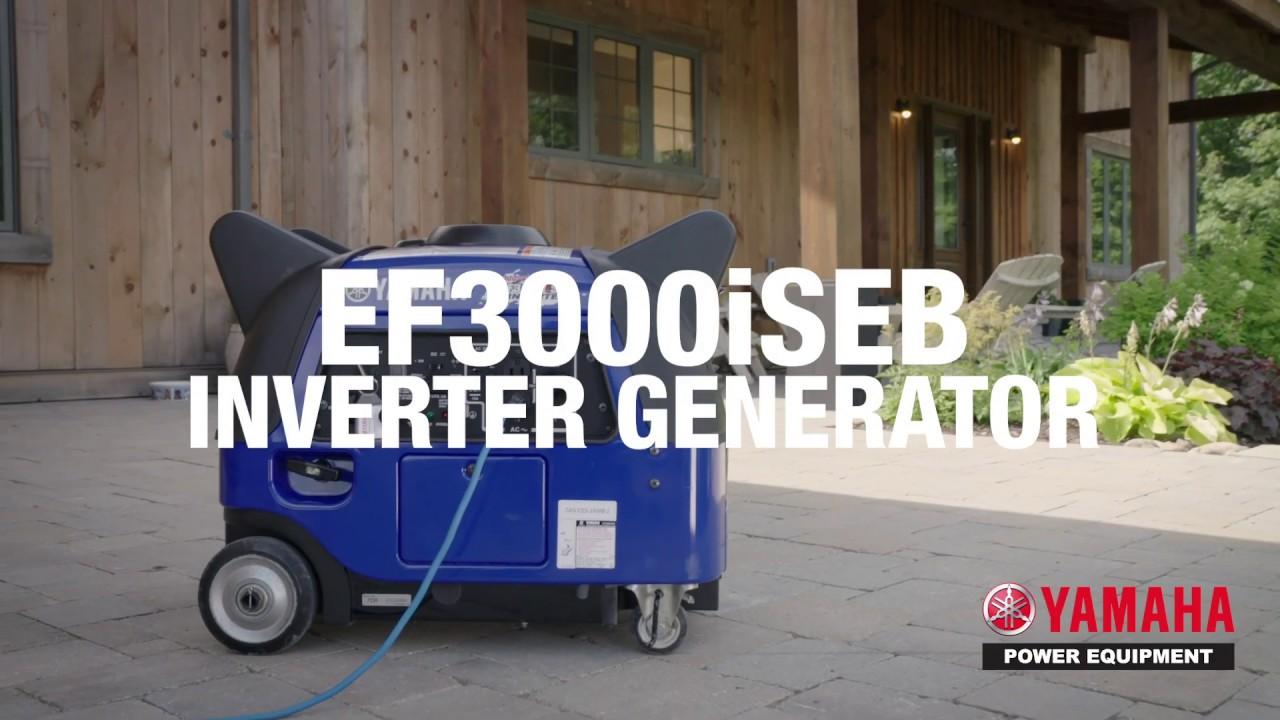 Discover the Yamaha EF3000iSEB Generator