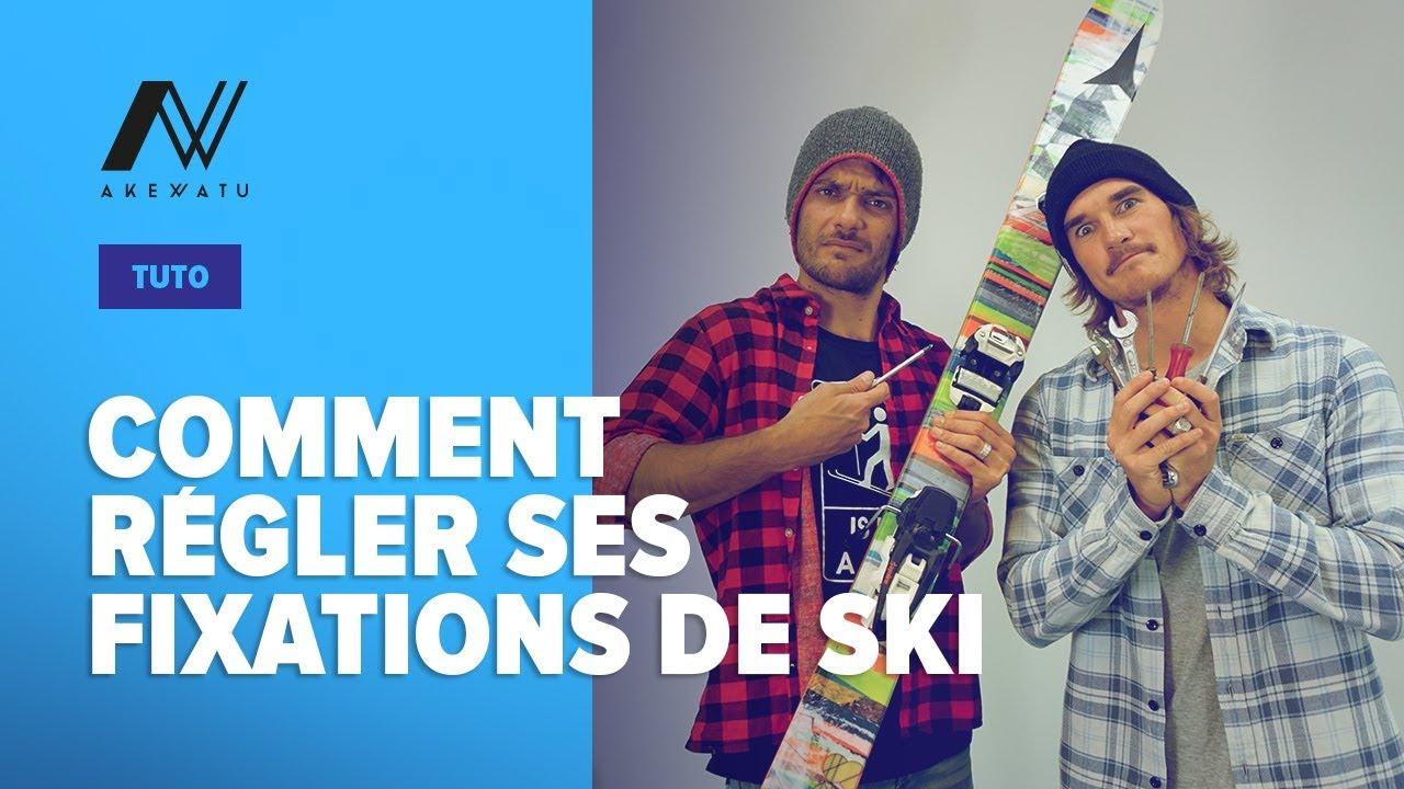 tuto comment regler ses fixations de ski