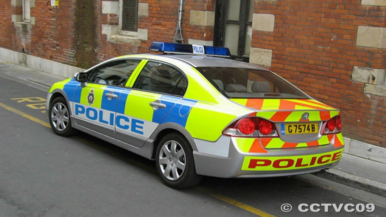 Royal Gibraltar Police Car Honda Civic Hybird Hd