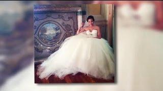 chrissy teigen wows in her wedding dress for her nuptials to john legend splash news