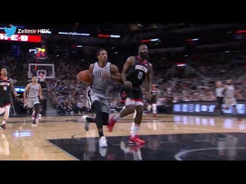 fb6299975b84 James Harden dan DeMar DeRozan a NBA tarihinin en cool savunma ve bloğu 👀