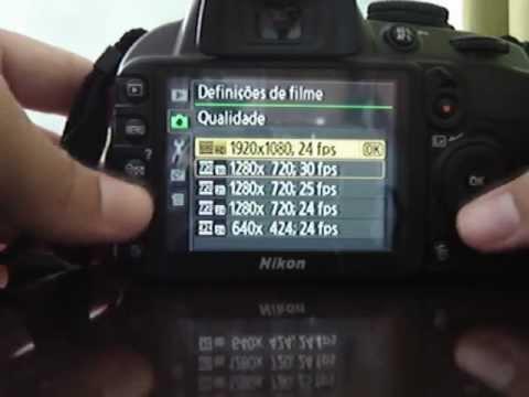 nikon d3100 portugu s tutorial primeiros passos menus e outros parte rh youtube com Nikon D3000 User Manual manual da camera nikon d3000 em portugues