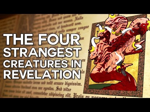 The Four Strangest Creatures in Revelation - Swedenborg and Life