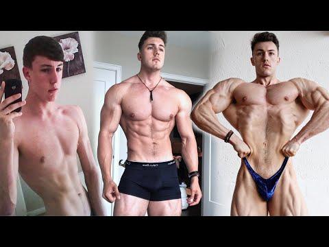 Brandon Harding 7 Year Transformation (152lbs - 240lbs) Unnatural