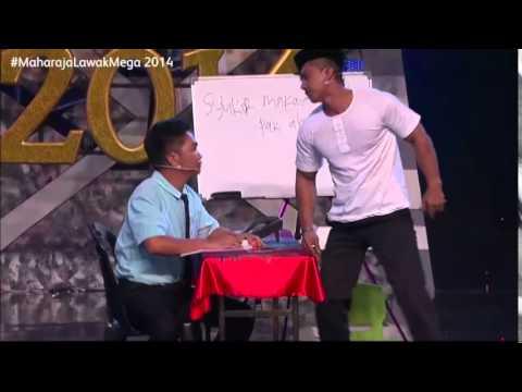 Maharaja Lawak Mega 2014 - Kerusi Panas 2 (Wala)