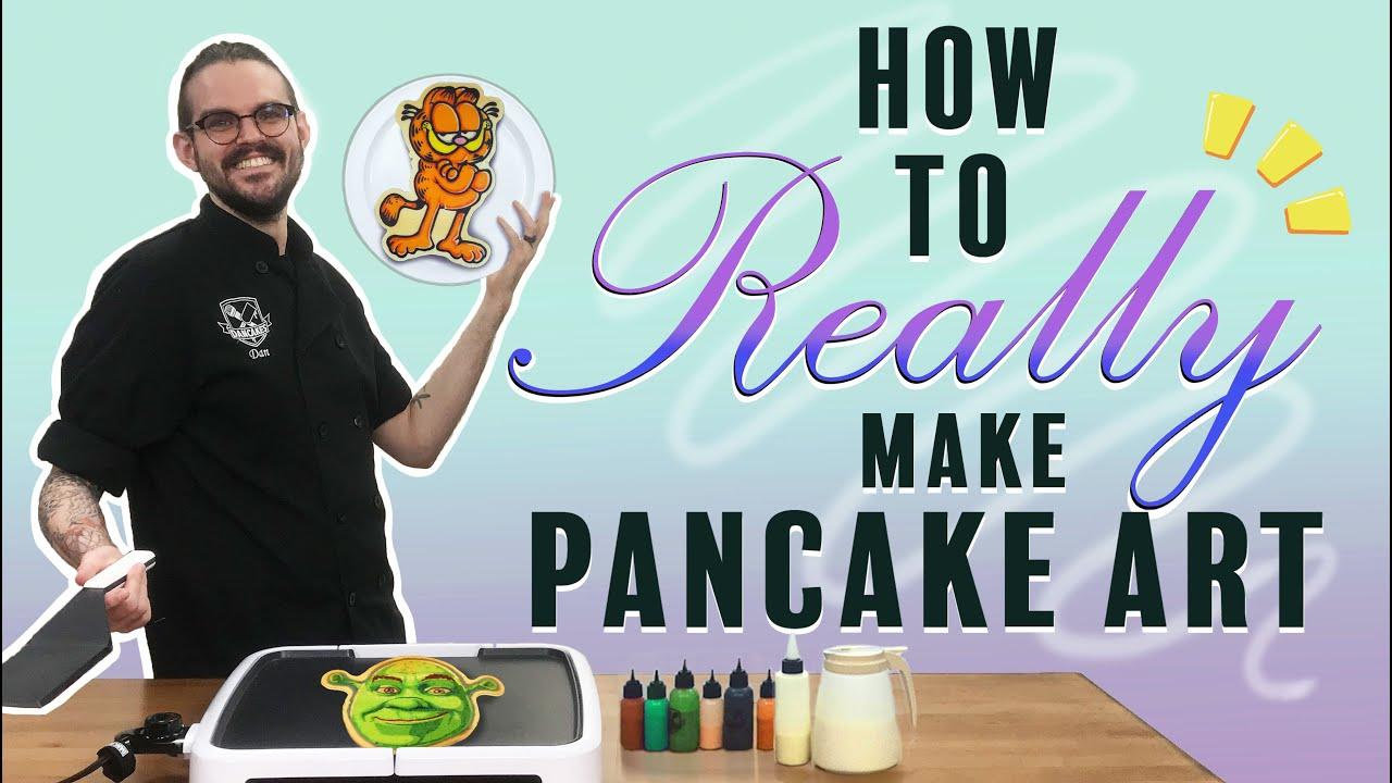 Download Dancakes 101 - The Best Way To Make Pancake Art 🥞👨🎨