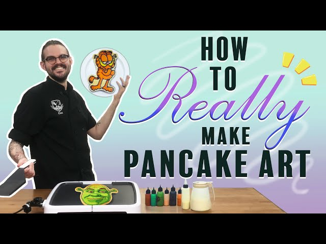 Dancakes 101 - The Best Way To Make Pancake Art 🥞👨‍🎨