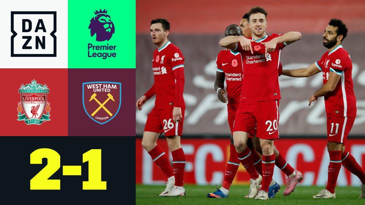 Liverpool vs West Ham United (2-1)   Resumen y goles ...