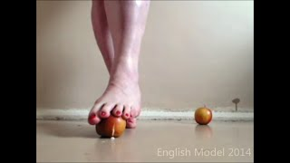 Apple Crush Foot Fetish