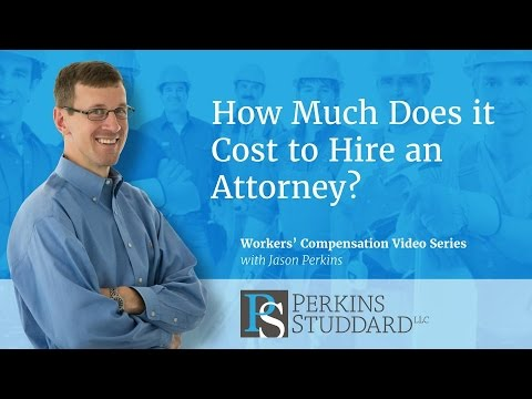 How Much Does It Cost To Hire An Attorney