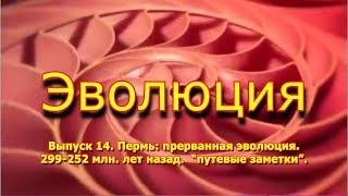 """Пермь: прерванная эволюция. 299 - 252 млн. лет назад. """"Эволюция"""", вып. 14"""