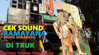 Gambar cover CEK SOUND RAMAYANA MUSIC PAS DI TRUK