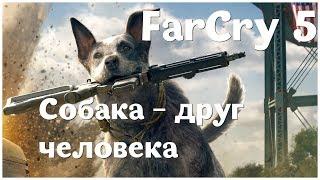 Собака - друг человека  - (Far Cry 5 - серия 3)  , прохождение игры с   oldgamer