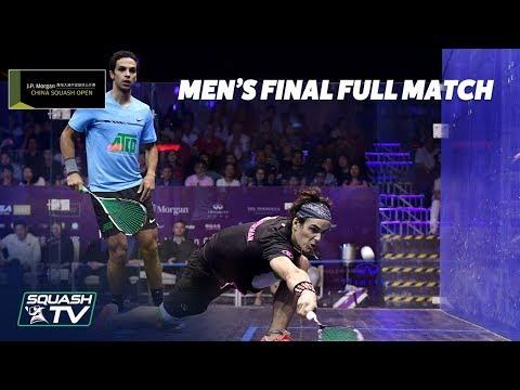 Squash: Coll  v Abouelghar - Men\'s Final - China Open 2018 - Full Match