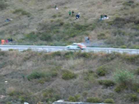 Burning MG Metro Group B, Rally Legend San Marino 2009