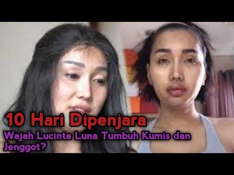 10 Hari Dipenjara, Wajah Lucinta Luna Tumbuh Kumis Dan Jenggot!