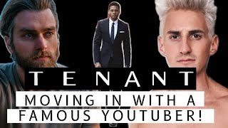 TENANT | MOVING IN WITH A FAMOUS YOUTUBER | BTS 6 (VLOG)