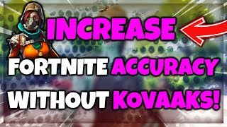 How to Improve Your Fortnite Accuracy WITHOUT Kovaak's Aim Trainer!