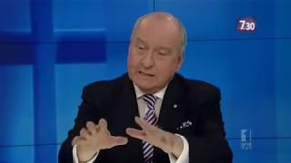 Radio host Alan Jones on coal-seam gas, Julia Gillard and climate change (2011) | 7.30
