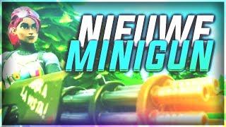 OMG, MINIGUN IN FORTNITE!! - IS DIE STERK?!! - Fortnite: Battle Royale #26